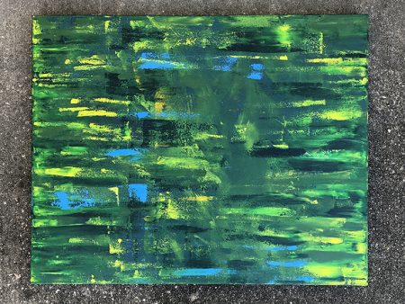 gemini abstract painting