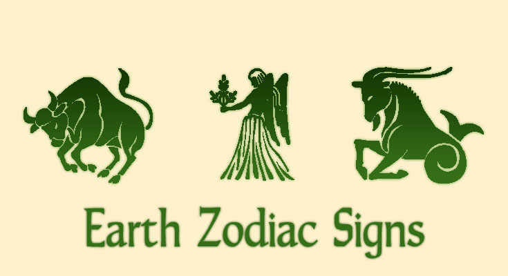 earth zodiac signs