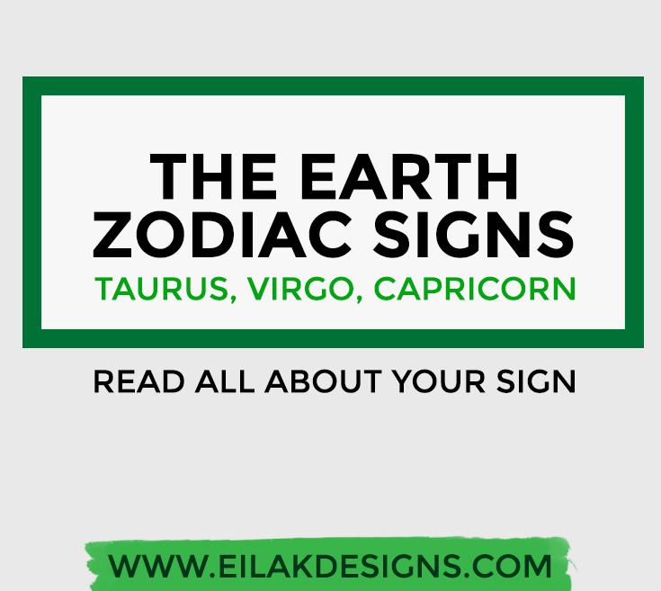 taurus virgo capricorn zodiac