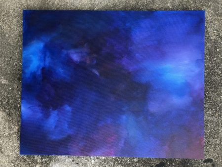 pisces abstract painting