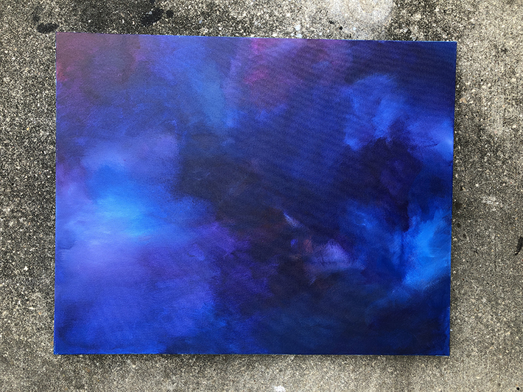 pisces abstract art