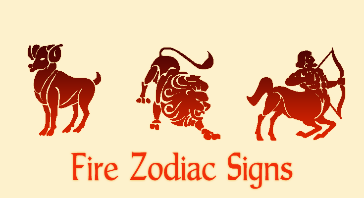 fire zodiac signs